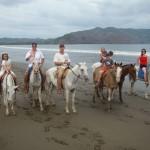 horse back riding in Montezuma