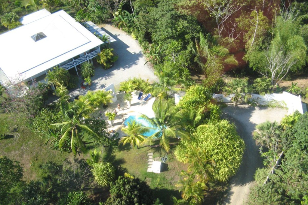 Hotel Horizontes de Montezuma topview